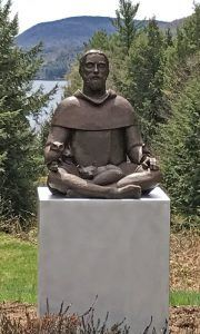 Peaceable Francis Sculpture