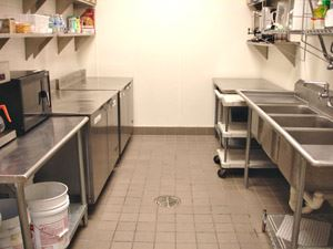 Kitchen at the Hopkins Center for the Arts
